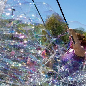 Bubbles McGee - Bubble Entertainment / Street Performer in Boston, Massachusetts