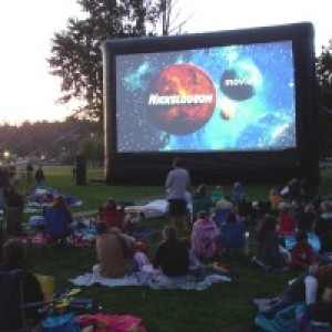 Buckeye Outdoor Cinema - Inflatable Movie Screens in Delaware, Ohio
