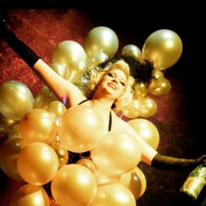 Burlesque Champagne Toast - Burlesque Entertainment / Dancer in Brooklyn, New York