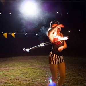 Byrdie Lou - Fire Dancer in Springfield, Missouri
