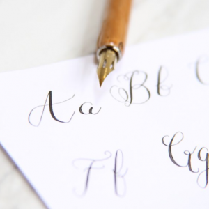 Calligraphy and Handwritten Lettering - Fine Artist / Wedding Invitations in Buffalo, New York