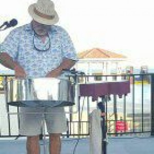 Calypso Kid - Steel Drum Player in Key West, Florida