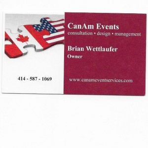 CanAm Event Services - Event Planner / Wedding Planner in Franklin, Wisconsin