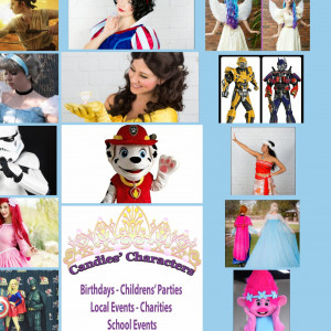 Candies Characters - Face Painter / Halloween Party Entertainment in Gilbert, Arizona