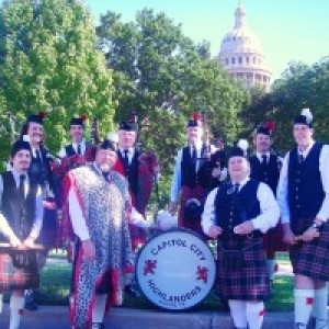 Capitol City Highlanders Pipe Band - Celtic Music / Irish / Scottish Entertainment in Austin, Texas