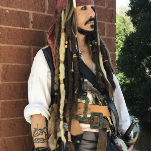Cap'n Jack's Pirate Appearances - Johnny Depp Impersonator / Pirate Entertainment in Wilmington, North Carolina