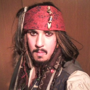 Pirates of Washington - Johnny Depp Impersonator in Longview, Washington
