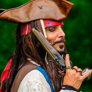 Capt. Jack Pirate for Hire - Johnny Depp Impersonator / Pirate Entertainment in Syracuse, New York