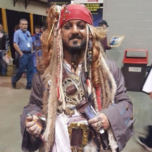 Capt. Jack Sparrow - Johnny Depp Impersonator in Lexington, Kentucky