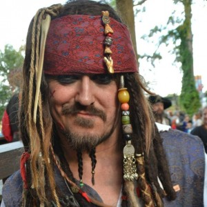 Captain C Sparrow - Johnny Depp Impersonator in Houston, Texas