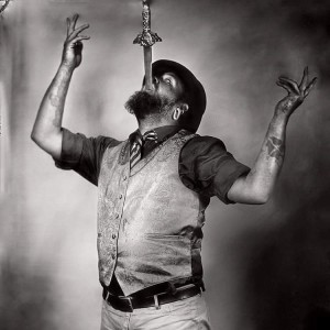 Captain Darron's Single-O Sideshow - Sword Swallower in Lexington, Kentucky