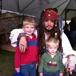 Captain Jack Sparrow Impersonator