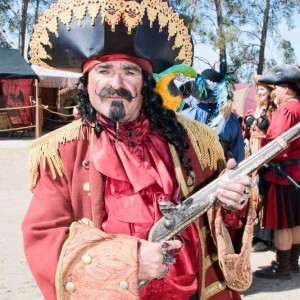 Captain morgan or black beard pirate - Actor in Wilmington, California