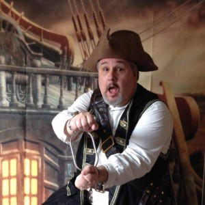 Captain Squirrel Pirate Magician - Children's Party Magician in Yakima, Washington
