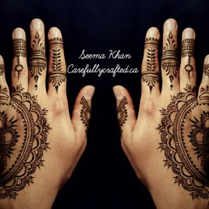 Carefully Crafted Henna Designs - Henna Tattoo Artist / College Entertainment in Calgary, Alberta