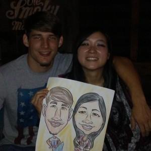 Caricature Artist - Arts & Crafts Party in Oak Ridge, Tennessee