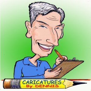 Caricature Party Artist Dennis Porter - Caricaturist / Corporate Event Entertainment in Dayton, Ohio