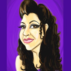 Caricatures and Facepaint by Gigi - Caricaturist / Tea Party in St Petersburg, Florida