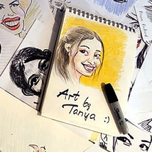 Caricatures and portraits by Tanya - Caricaturist / Face Painter in New York City, New York