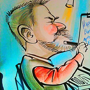 Caricatures by Bob O'Brian - Caricaturist in Dallas, Texas