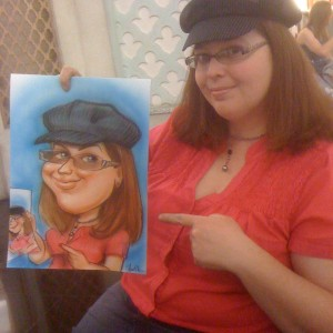Caricatures by Celestia - Caricaturist / Tea Party in Las Vegas, Nevada