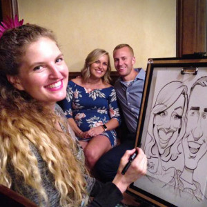 Caricatures by Erin - Caricaturist / Wedding Entertainment in Minneapolis, Minnesota