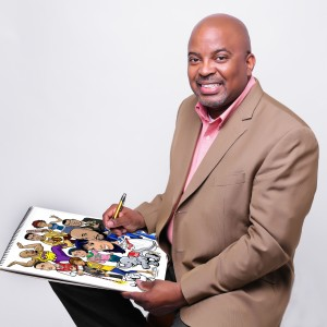 Caricatures by Kerry G. Johnson - Caricaturist in Columbia, Maryland