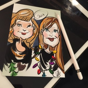 Caricatures By Liberty - Caricaturist in Hermosa Beach, California