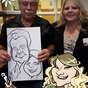 Caricatures by Marietta Delene