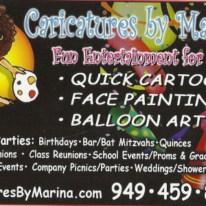 Caricatures By Marina - Caricaturist / Family Entertainment in Mission Viejo, California