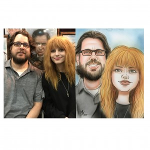 Caricatures by Matt Groller - Caricaturist in Santa Clarita, California
