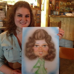 Caricatures by Melody - Caricaturist / Body Painter in Milwaukee, Wisconsin