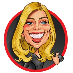 Caricatures by Rachel