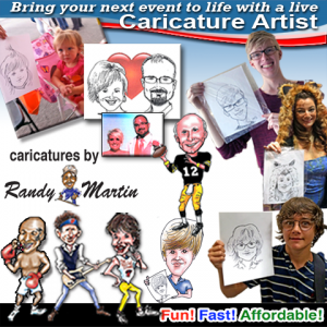 Caricatures by Randy - Caricaturist / Mardi Gras Entertainment in Fort Wayne, Indiana