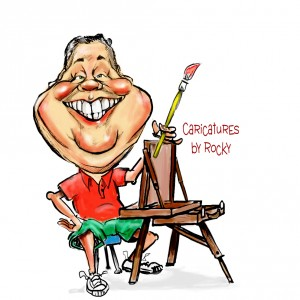 Caricatures by Rocky - Caricaturist in Troy, New York