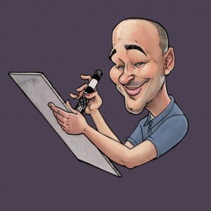 Caricatures by the Funny Drawing Guy - Caricaturist / Cartoon Characters in Baraboo, Wisconsin