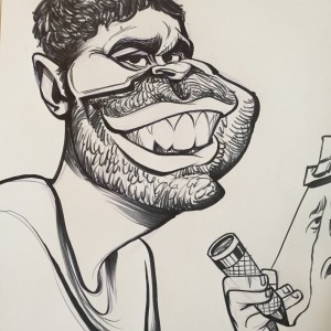 Caricatures by Tyler Fontes