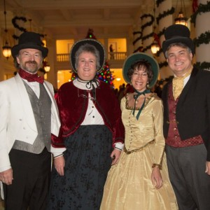 Carolers of Christmas Past - Christmas Carolers in Winston-Salem, North Carolina