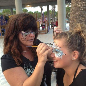 Carollynn Haney - Face Painter in Tarpon Springs, Florida