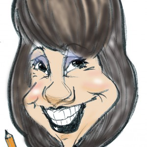 Cartoon portraits by Deb - Caricaturist in Palm Desert, California