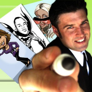 Cartoon Slinger - Caricatures by Dominic - Caricaturist / Interactive Performer in Yorba Linda, California