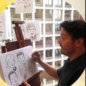 Cartoons By Bernard - Caricaturist in Portland, Oregon