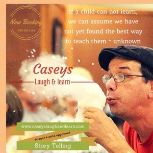 Casey's Laugh and Learn - Storyteller / Comedy Show in Durham, North Carolina
