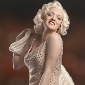 Catherine Thogersen - Marilyn Monroe Impersonator / Stilt Walker in Las Vegas, Nevada