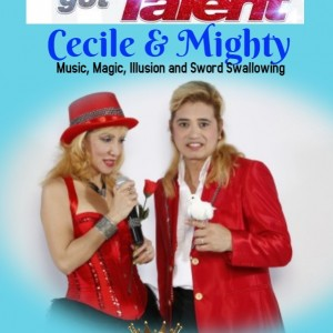 Cecile and Mighty - Magician in Lomita, California