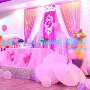 Celebrations - Backdrops & Drapery / Princess Party in Plano, Texas