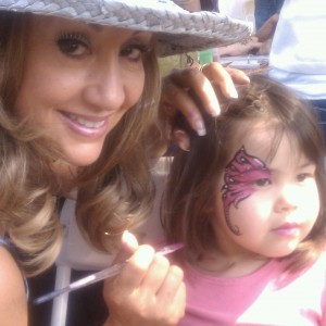 Celestial Face and Body Painting - Face Painter / Outdoor Party Entertainment in San Jose, California