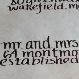 Celona Calligraphy - Wedding Invitations in Boston, Massachusetts