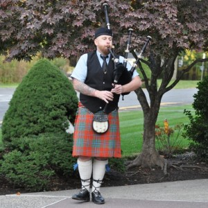 Celtic Curtin Bagpiper for Hire