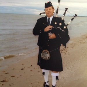 Celtic Piping By Christopher Coomes